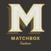 This is the restaurant logo for Matchbox Diner & Drinks