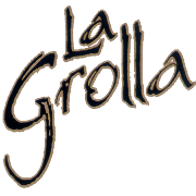 This is the restaurant logo for La Grolla St Paul