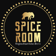 This is the restaurant logo for Spice Room | Neighborhood Indian Bistro