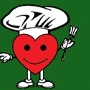Restaurant logo for Freshlys we love cooking