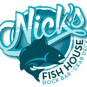 This is the restaurant logo for Nick's Fish House