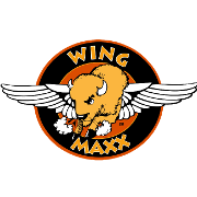 This is the restaurant logo for Wing Maxx