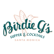 This is the restaurant logo for Birdie G's