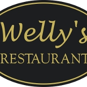 This is the restaurant logo for Welly's