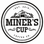 This is the restaurant logo for Miner's Cup Coffee Co