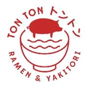 This is the restaurant logo for Ton Ton Ramen & Yakitori
