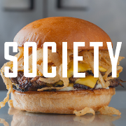 This is the restaurant logo for SOCIETY