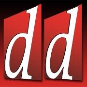 This is the restaurant logo for Double D's Sourdough Pizzeria & Tap House