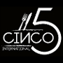 Restaurant logo for Cinco 5 International