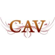 This is the restaurant logo for CAV