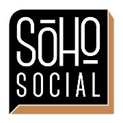 This is the restaurant logo for Soho Social