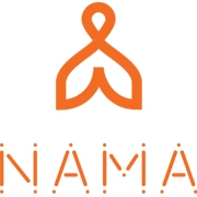 This is the restaurant logo for Nama