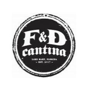 This is the restaurant logo for F&D Cantina Lake Mary