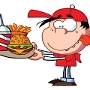 Restaurant logo for Jimmy Burgers
