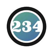 This is the restaurant logo for Oceans 234