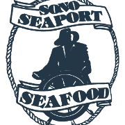 This is the restaurant logo for SONO SEAPORT SEAFOOD