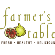 This is the restaurant logo for Farmer's Table