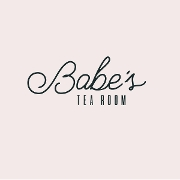 This is the restaurant logo for Babe's Tea Room