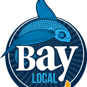 This is the restaurant logo for Bay Local Eatery