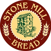This is the restaurant logo for Stone Mill Bread Co.