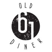 This is the restaurant logo for Old 61 Diner