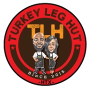 This is the restaurant logo for The Turkey Leg Hut