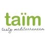 Restaurant logo for Taim