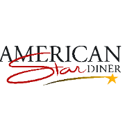 This is the restaurant logo for American Star Diner