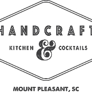 This is the restaurant logo for HandCraft Kitchen & Cocktails