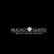 This is the restaurant logo for Mucho Gusto