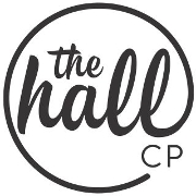 This is the restaurant logo for The Hall-CP