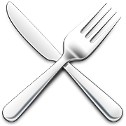 This is the restaurant logo for Melange & Pangea