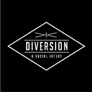 This is the restaurant logo for Diversion