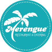 This is the restaurant logo for Merengue Restaurant and Catering