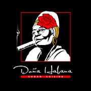 This is the restaurant logo for Dona Habana Restaurant