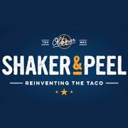 This is the restaurant logo for Shaker & Peel
