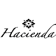 This is the restaurant logo for Hacienda Grill