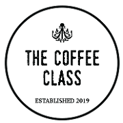 This is the restaurant logo for The Coffee Class