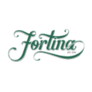 This is the restaurant logo for Fortina Stamford