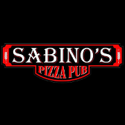 This is the restaurant logo for Sabino's Pizza Pub