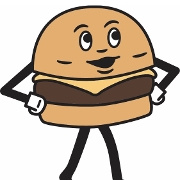 This is the restaurant logo for Burger Daddy