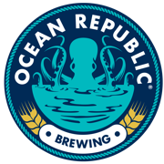 This is the restaurant logo for Ocean Republic Brewing
