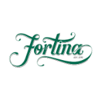 This is the restaurant logo for Fortina Armonk