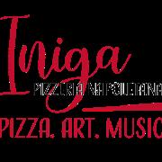 This is the restaurant logo for Iniga Pizzeria Napoletana