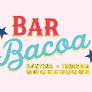 This is the restaurant logo for BarBacoa
