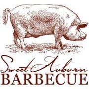 This is the restaurant logo for Sweet Auburn BBQ