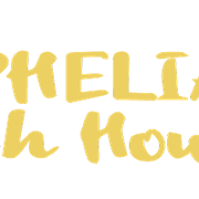 This is the restaurant logo for Ophelia's Fish House