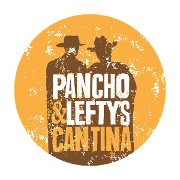 This is the restaurant logo for Pancho and Lefty's Cantina