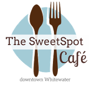This is the restaurant logo for The SweetSpot Cafe