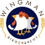 Restaurant logo for Wingman Birdz + Brewz